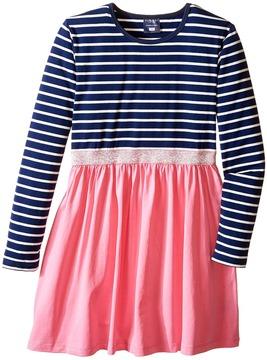 Toobydoo Picture Perfect Sparkle Belt Dress (Toddler/Little Kids/Big Kids)