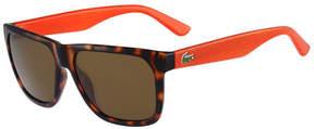 Lacoste Men's Classic Wayfarer Sunglasses