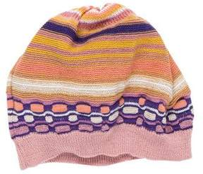 Missoni Girls' Knit Patterned Beanie