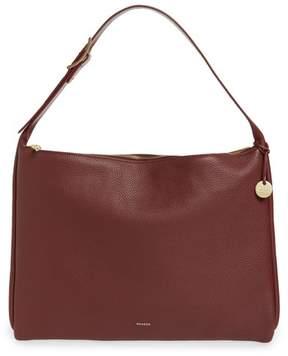 Skagen Anesa Leather Shoulder Bag - Red