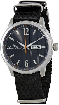 Lucien Piccard Milanese Dial Men's Textile Watch
