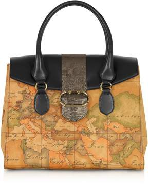 Alviero Martini Wonder Geo Large Satchel Bag