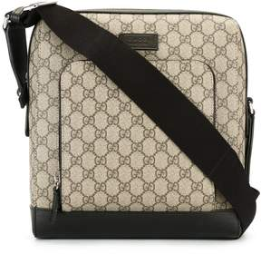 Gucci house pattern messenger bag