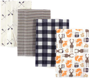 Hudson Baby Forest Flannel Burp Cloth Set