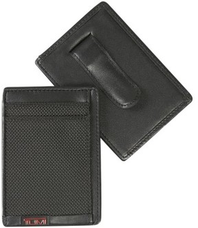 Tumi Men's 'Alpha' Money Clip Card Case - Black