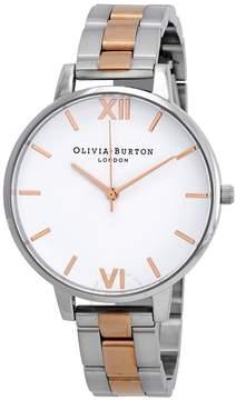 Olivia Burton Big White Dial Ladies Watch
