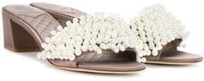 Tory Burch Tatiana embellished slip-on sandals