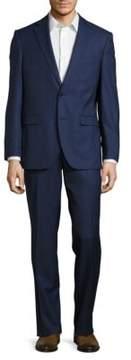 Black & Brown Black Brown Henry Fit Windowpane Wool Blazer and Pants Suit Set