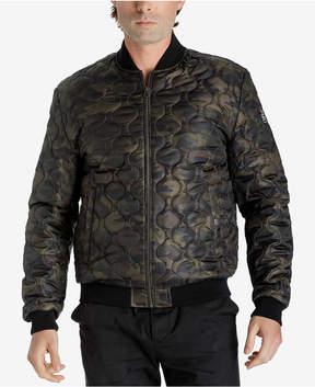 Lucky Brand Men's Camo Varsity Jacket