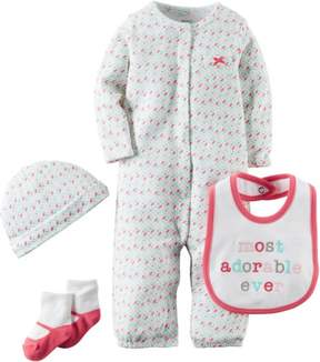 Carter's Baby Girls 4-pc. Hello Cutie Layette Set