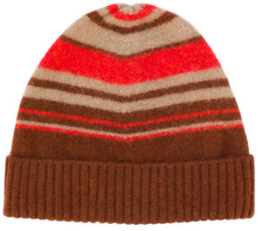 Drumohr striped ribbed beanie