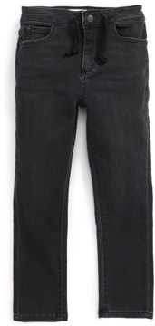 DL1961 Toddler Boy's William Active X Stonewash Knit Denim Jogger Pants