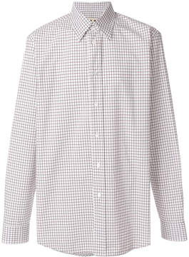 Marni grid pattern shirt