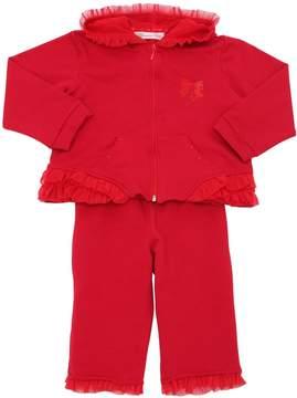 Miss Blumarine Cotton Sweatshirt & Sweatpants