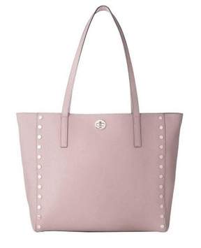 Michael Kors NWT Rivington Stud Medium Leather Zip Tote Satchel Soft Pink Gold - ONE COLOR - STYLE