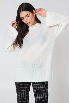 NA-KD Na Kd Wide Sleeve Knitted Sweater