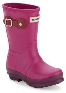 Hunter Toddler's & Kid's Colorblock Rubber Rain Boots
