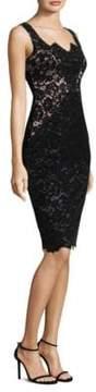 Black Halo Valentine Sheath Dress