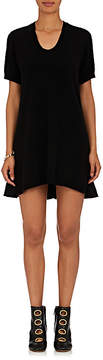 Marni Women's Ruffle-Hem Wool-Blend Shift Dress