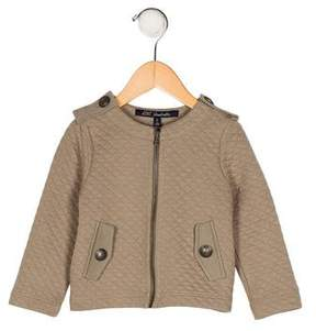 Lili Gaufrette Girls' Quilted Zip-Up Jacket