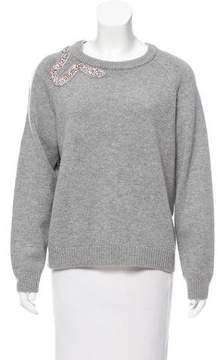 BA&SH Beaded Cutout Sweater