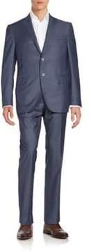 Corneliani Regular-Fit Pinstripe Virgin Wool Suit