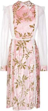 Au Jour Le Jour lace trimmed dress