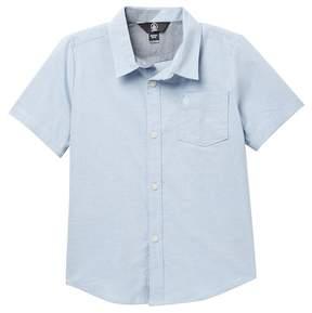 Volcom Everett Oxford Short Sleeve Top (Little Boys)
