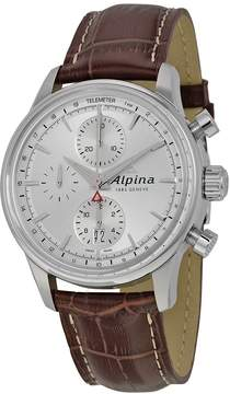 Alpina Alpiner Chronograph Automatic Sunray Dial Men's Watch