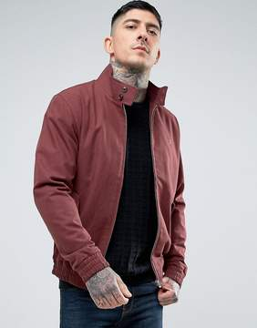 Farah McGregor Harrington Jacket in Burgundy
