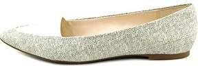 Alfani Womens Lawrent Pointed Toe Slide Flats.