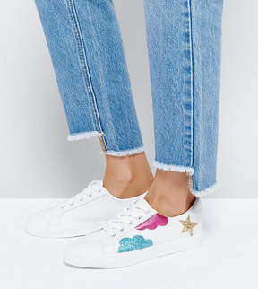 Asos DIAMOND SKY Lace up Sneakers