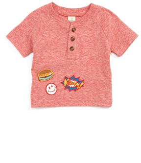 Tucker + Tate Patch Henley T-Shirt (Baby Boys)