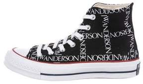 J.W.Anderson Converse Chuck Taylor Logo High-Top Sneakers w/ Tags