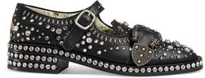 Gucci Queercore brogue shoe with crystals