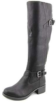 Style&Co. Style & Co Gayge Wide Calf Round Toe Synthetic Knee High Boot.