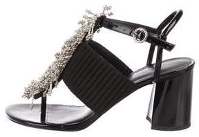 3.1 Phillip Lim Embellished Patent Leather Sandals