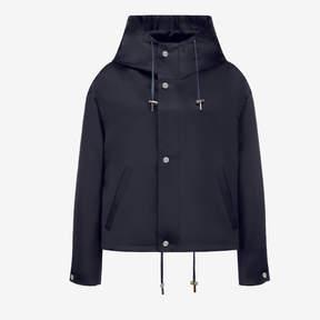 Bally Satin Windbreaker Parka Jacket