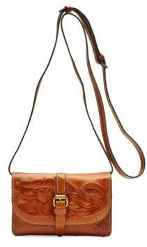 Patricia Nash Torri Leather Crossbody Bag