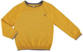 Mayoral Long-Sleeve Crewneck Sweater, Size 3-7