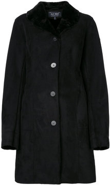 Armani Jeans single breasted coat