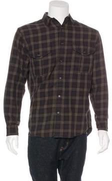 Filson Plaid Button-Up Shirt