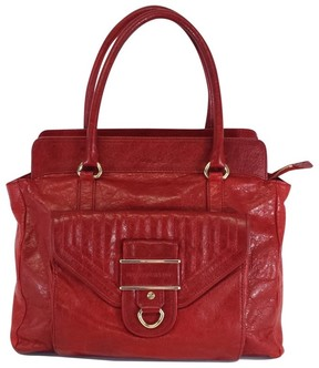 Rebecca Minkoff Red Patterned Leather Bag - RED - STYLE