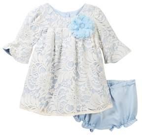 Laura Ashley Ivory Lace Dress (Baby Girls 12-24M)