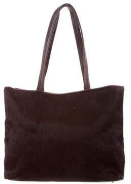 DKNY Ponyhair Tote Bag