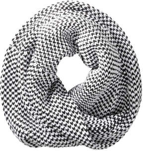 Joe Fresh Women's Knit Infinity Scarf, Black (Size O/S)