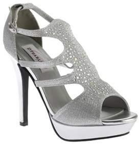 Dyeables Women's Irie T-strap Platform Sandal.
