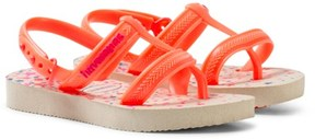 Havaianas Orange Joy Spring Sling Back Flip Flops