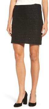 Anne Klein Women's Sequin Tweed Skirt