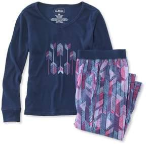 L.L. Bean L.L.Bean Girls' Jersey-Knit PJs